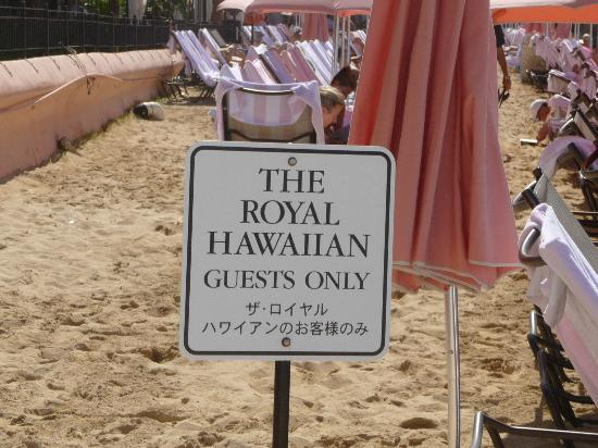 The Royal Hawaiian, a Luxury Collection Resort: GUEST ONLY