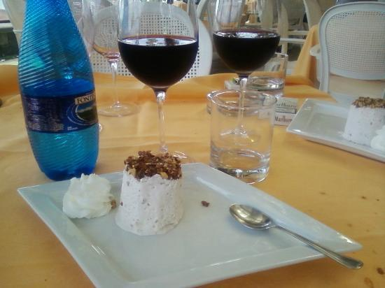 Dal Pirata Beach: Десерт