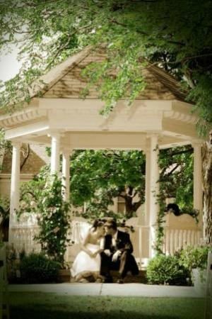 The Country Mansion: Our Charming Bridal Gazebo