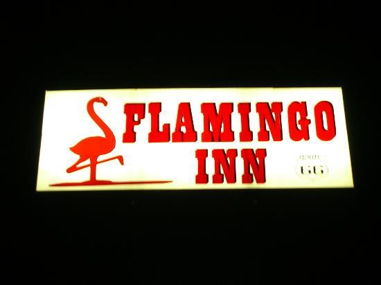 Flamingo Inn: Great Sign