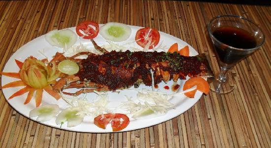 Cafe F Zone : Tandoori Lobster