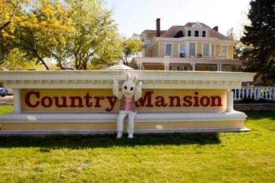 The Country Mansion: The Mansion At Easter