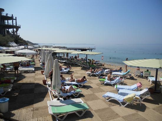 Grand Hotel Ontur: Beach area 3