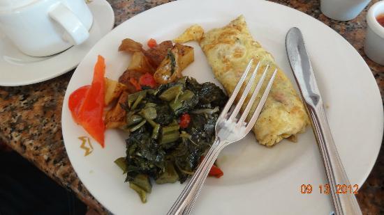 ClubHotel Riu Ocho Rios: breakfast at the buffet