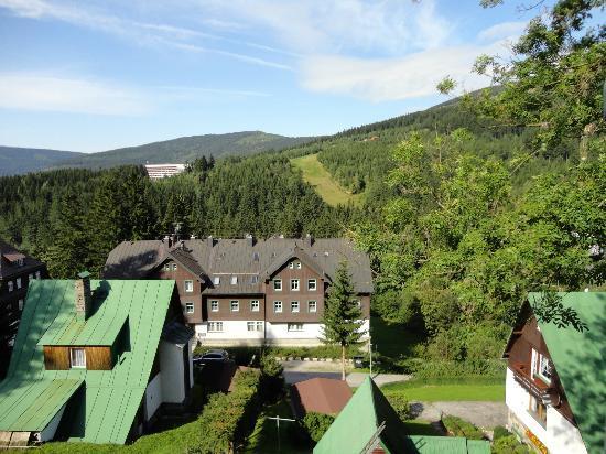 Hotel Pod Jasany: Widok z okna pokoju ' białego '