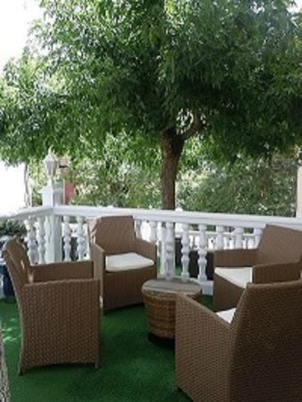 Hotel Miramar: Terrazas