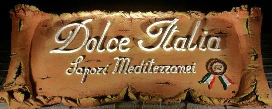 Dolce Italia : New sign