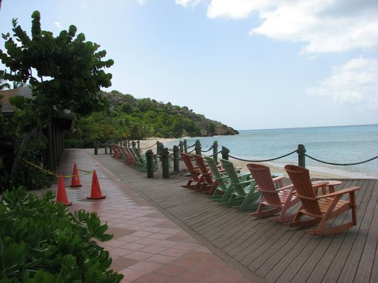 Galley Bay Resort: beachfront