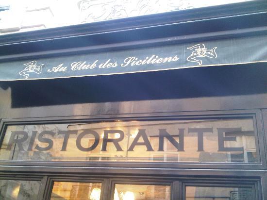 Au Club des Siciliens, un gioiello siculo a Parigi