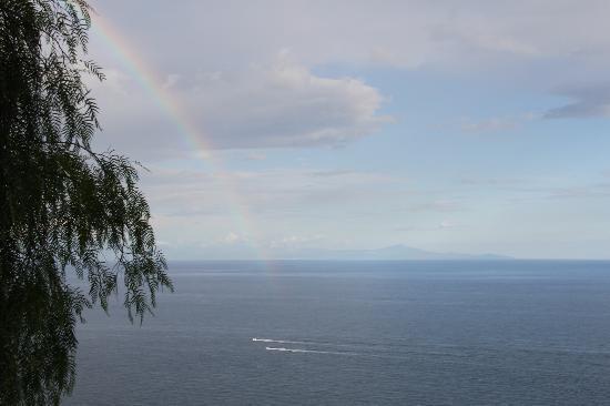La Grotta dei Fichi: A rainbow