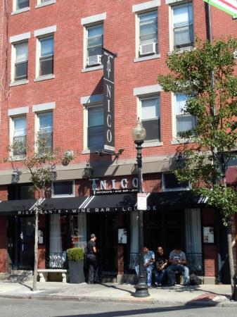 Nicos Italian Restaurant On Hanover Street In Boston Picture Of