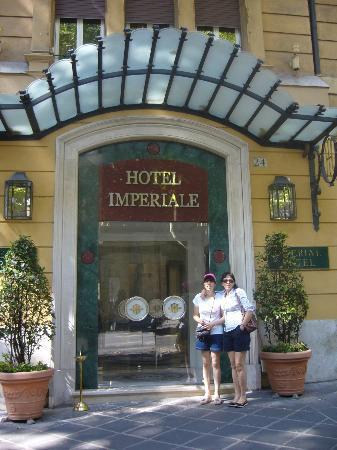 Hotel Imperiale: fachada