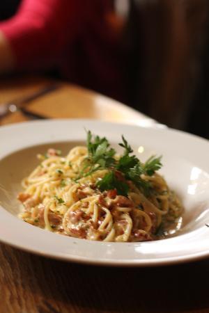 La Campania: Spaghetti alla Carbonara