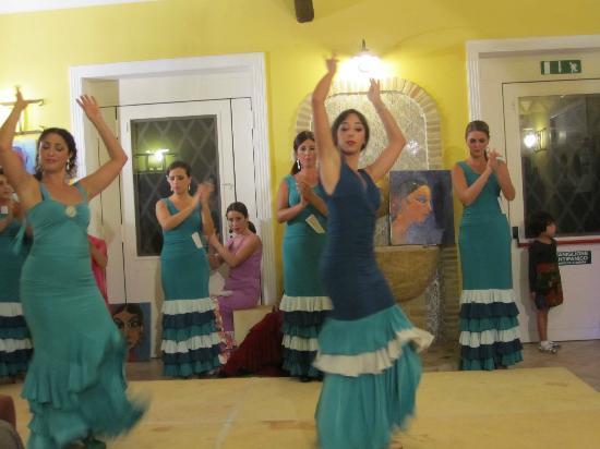 Agriturismo Salemi: Flamenco Abend