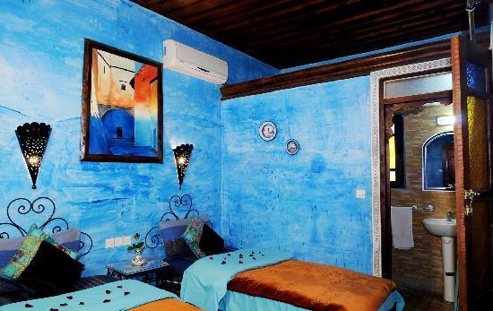 Riad Dar Al Ouali: chambre