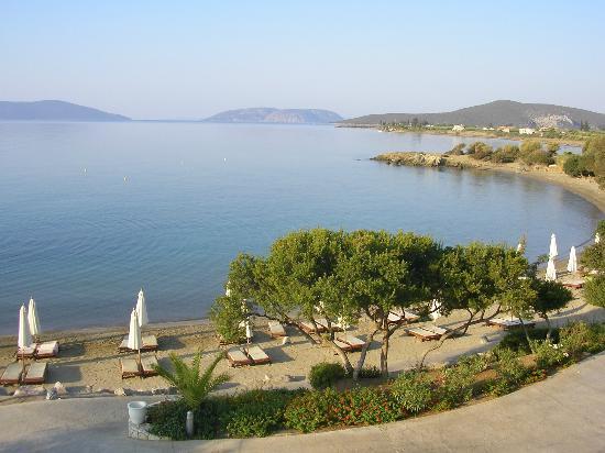 Barcelo Hydra Beach Resort: Panorama dalla terrazza ristorante