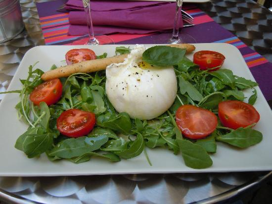 Le Wine Bar : Burrata o come dicono loro Supermozzarella
