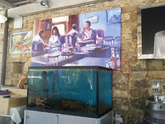 La Cantinetta di Passignano: Great painting