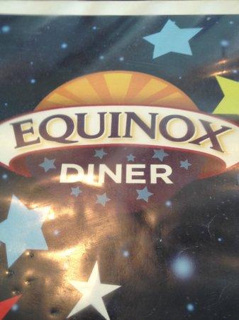 Mystic Diner and Restaurant: Equinox Diner menu