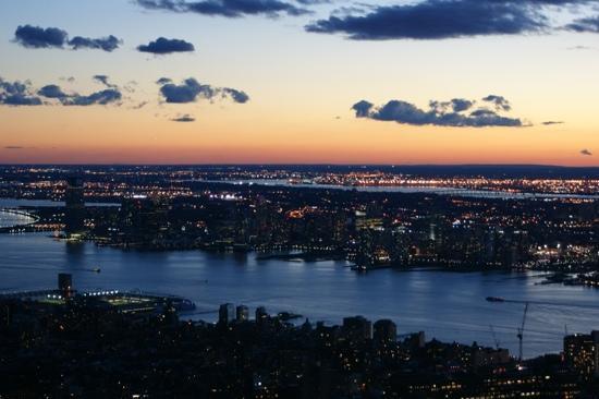 Empire State Building: Abendstimmung