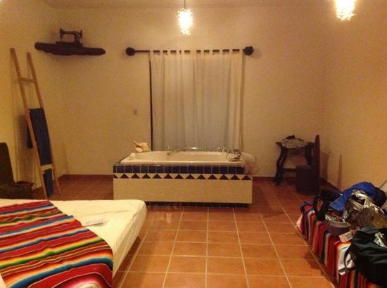 Lo Nuestro Petite Hotel: the suite!! 9/2012