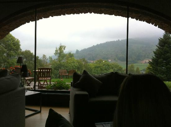 Hotelet del Bac: Vista desde el salón