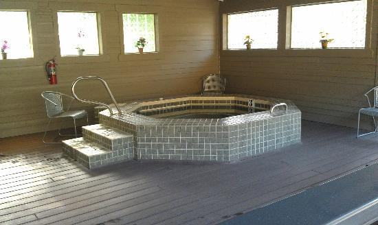 Crown Villa RV Resort: Hot tub