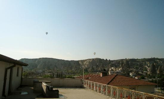 Yuksel Hotel: Vue de la terrasse
