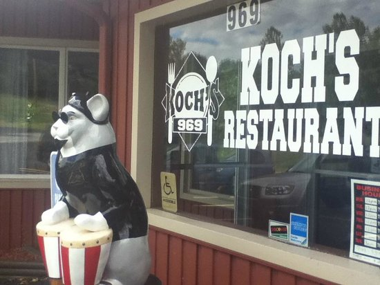 Koch's Restaurant: Old school cool!