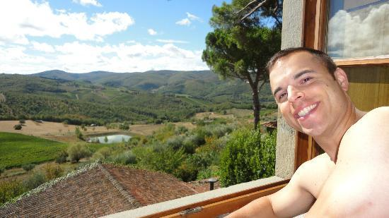 Villa Le Barone: View from Room 26