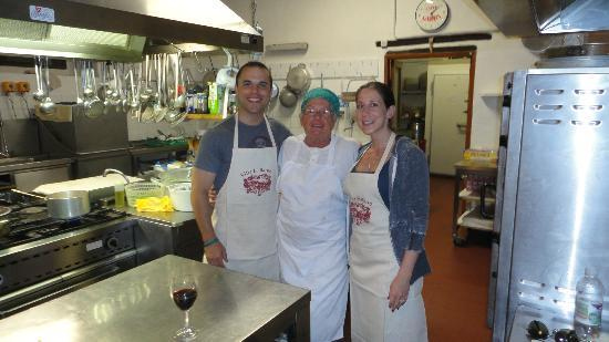 Villa Le Barone: Cooking class with chef Fernanda