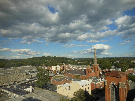 Poughkeepsie Grand Hotel : view from room
