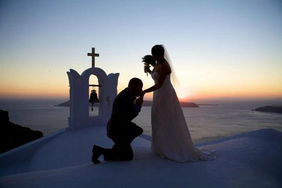Astra Suites: Amazing Sunset Wedding at Astra