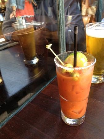Mike & Anne's Restaurant: if you like your bloody marys spicy then order this here