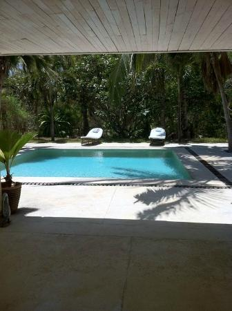 Wildfitness - Baraka House: One of the Pool houses - view from