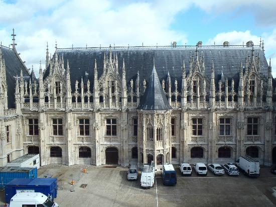Les Inities : view of palais de justice from our window