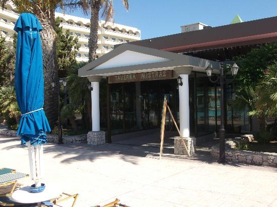 Olympos Beach Resort: taverna