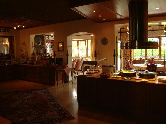 Hotel Goldene Rose: Sala della colazione