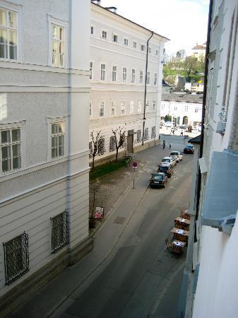 Hotel Wolf : View From Room, Looking Towards Mozartplatz