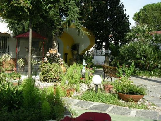 Villa Le Magnolie: Ingresso
