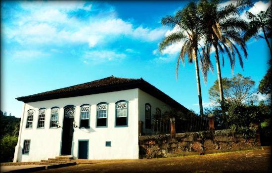 Itatiba, SP: Casarão onde situa-se a recepção