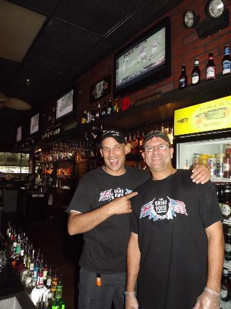 Grind House Bar and Grill: Grind House Staff (SteveO + Will)