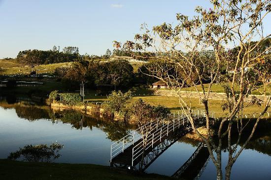 Hotel Fazenda Dona Carolina: Vista do Lago