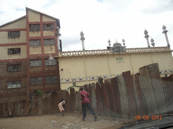 Kibera: mosque 