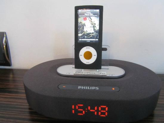 Hotel Estrella del Mar: Docking station for your ipod!