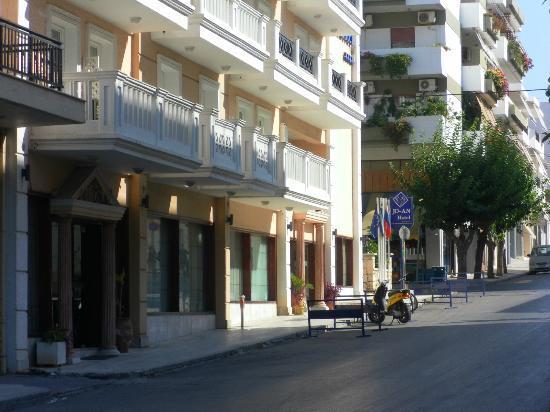 Jo-An Palace Hotel: Haupteingang