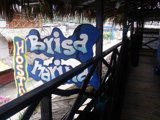 Hostal Brisa Marina: Cartel de identificación