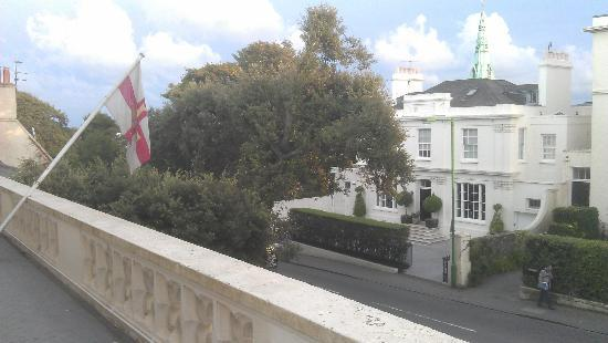 Grange Lodge Hotel: View from the balcony