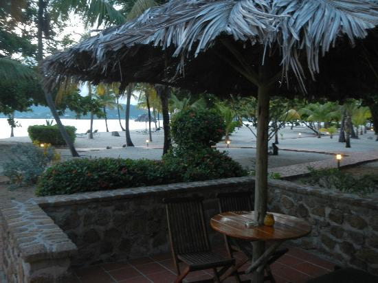 Palm Island Resort & Spa: view from our terrace