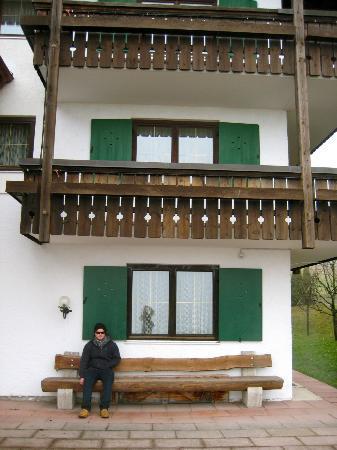 Alpenhotel Denninglehen: Rear of Hotel